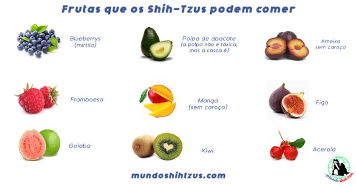 Frutas que os cachorros podemcomer