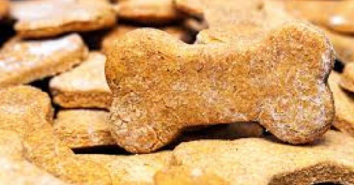 Receita de biscoitos naturais de banana paracachorro